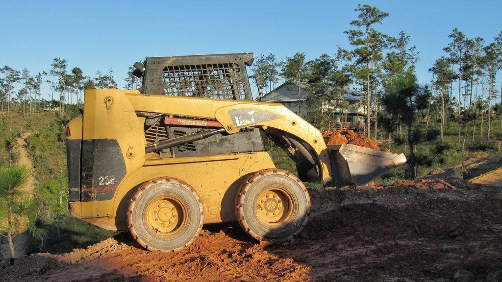 ציוד מכני הנדסי עבודות בובקט, עבודות עפר, מיני מחפרונים ושופלים
